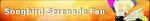 MLP Songbird Serenade Fan Button by ShootingStarYT