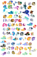 AU Character's [Free to Use] by ShootingStarYT