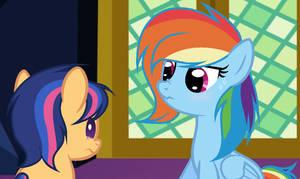 MLP Rainbow the Babysitter [Next Gen] by ShootingStarYT