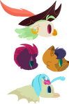 AU Character's (Movie Character's) [Free to Use] by ShootingStarYT