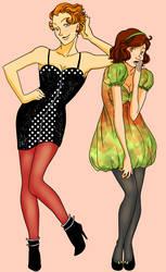 Pretty girls by ExDreamerLidiya