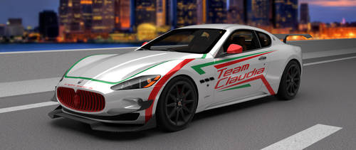 Project Evo: Team Claudia Maserati GranTurismo by BayuBaron