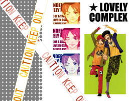 Lovely Complex Wallpaper I by tsarinelle