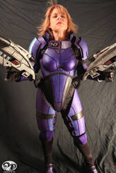 Mass Effect N7 Female Armor 2 by ParadoxJaneDesigns