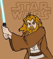 Obi-Wan Kenobi by K-Zlovetch