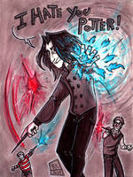 Severus Snape and the Marauders by K-Zlovetch