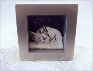Winter Kitten by K-Zlovetch