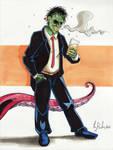 June 4 - Wormwood the Gentleman Corpse by KileyBeecher