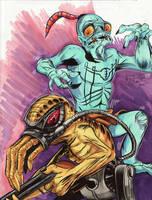 June 21 - Oddworld by KileyBeecher