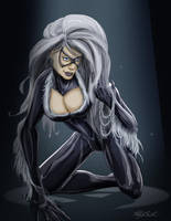 Spider-Man Rouges Gallery - Black Cat by KileyBeecher