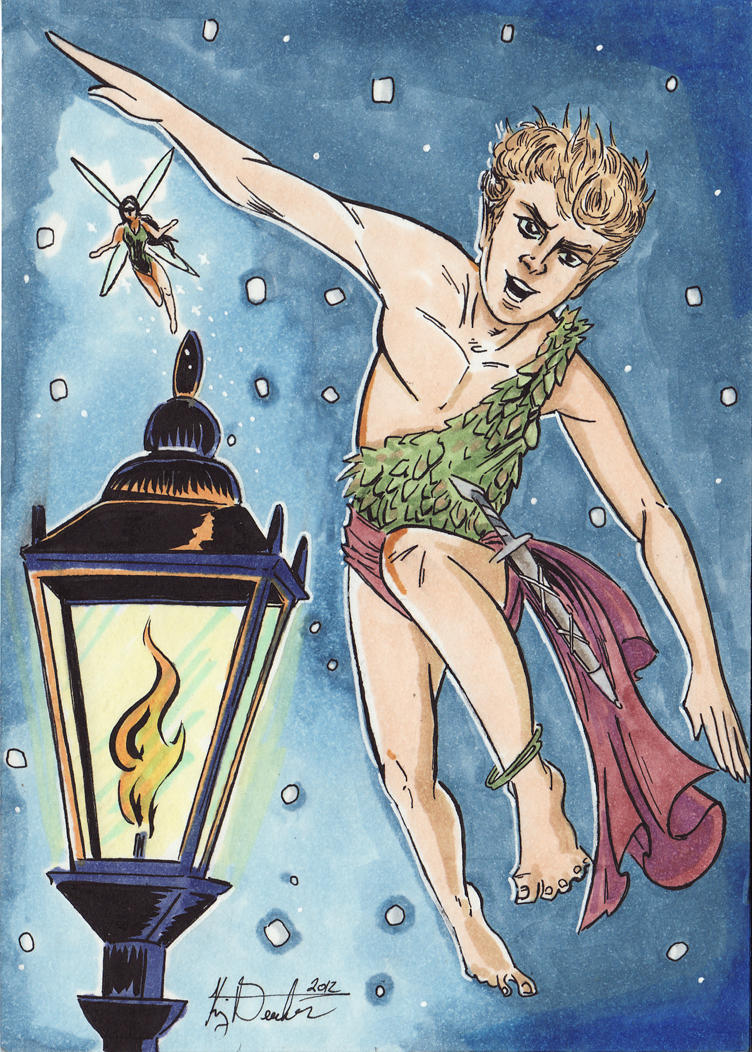Favorite Things - J.M. Barrie's Peter Pan by KileyBeecher