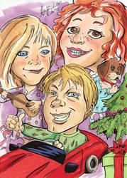 Favorite Things - Christmas Kids by KileyBeecher