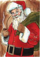 Favorite Things - Santa Claus by KileyBeecher