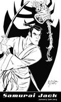 January 1, 2013 - Samurai Jack by KileyBeecher