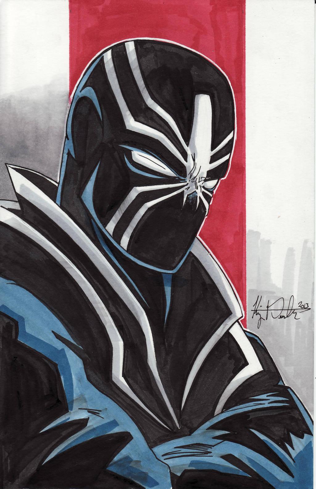 The Black Tarantula by KileyBeecher