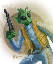 Greedo by KileyBeecher