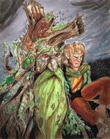 July 1 - Treebeard by KileyBeecher