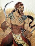 July 2 - Khal Drogo by KileyBeecher