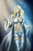July 7 - Emma Frost by KileyBeecher