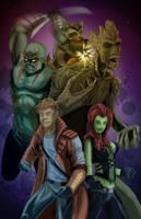 The Guardians of the Galaxy by KileyBeecher