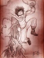 Akira, Tetsuo by KileyBeecher