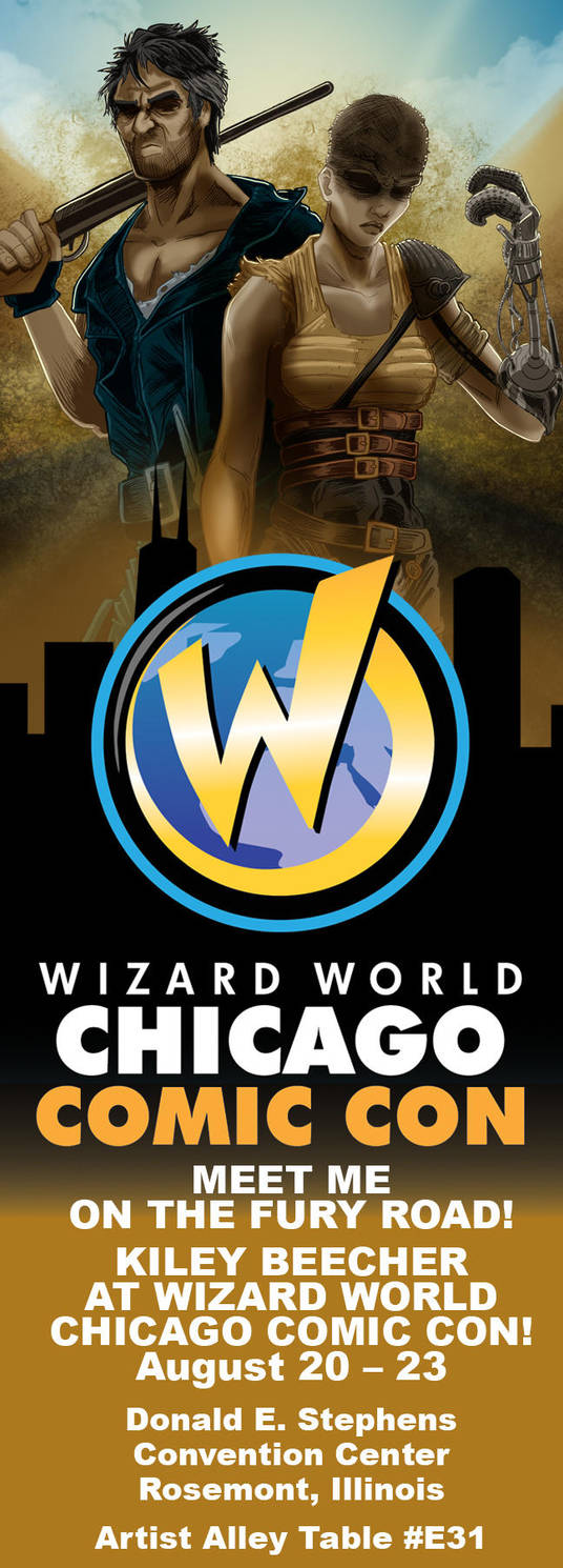 Wizard World Chicago 2015 Ad by KileyBeecher