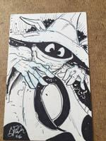 Orko Sketch Card by KileyBeecher