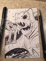 Cloverfield Monster by KileyBeecher