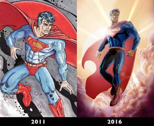 5 Year Comparison by KileyBeecher