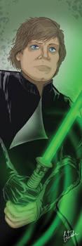 Luke Skywalker Banner by KileyBeecher