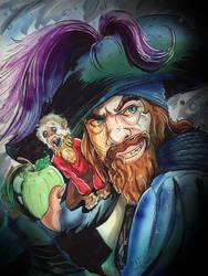 Captain Hector Barbossa by KileyBeecher