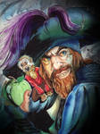 Captain Hector Barbossa by KileyBeecher