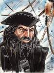 Edward Teach, Blackbeard by KileyBeecher