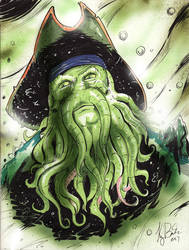 Davy Jones by KileyBeecher