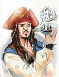 Jack Sparrow by KileyBeecher