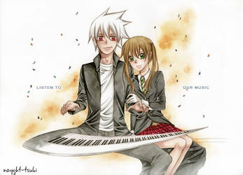 Listen to our music by nayght-tsuki