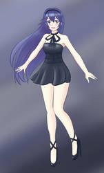 Lucina Black Dress by Nekotrap