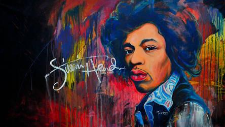 Jimi Hendrix by mystictune