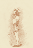 Aresius sketch by Lord-Giovanni