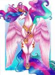 Princess Celestia by Lord-Giovanni