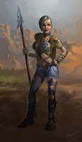 Fallout Art: Scavenger by EgorMotygin