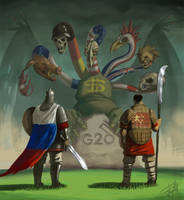 G20 summit by EgorMotygin