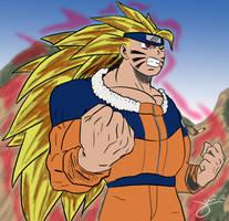 Naruto Super Sayajin by xjuniorm
