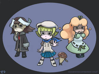 Touch Detective Wallpaper by perapera