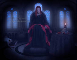 Elizabeth Bathory by LaraGirlySkull