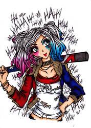 Harley Quinn by DarkSpirit16
