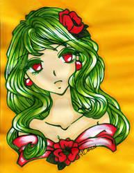 Red flowers by DarkSpirit16