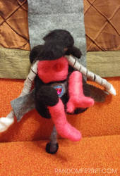 Mettaton Felt Doll Transforming by feltgood