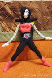 Mettaton EX Felt Doll by feltgood