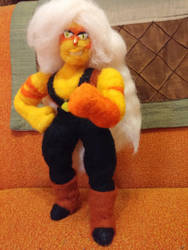 Posable Jasper plushie by feltgood